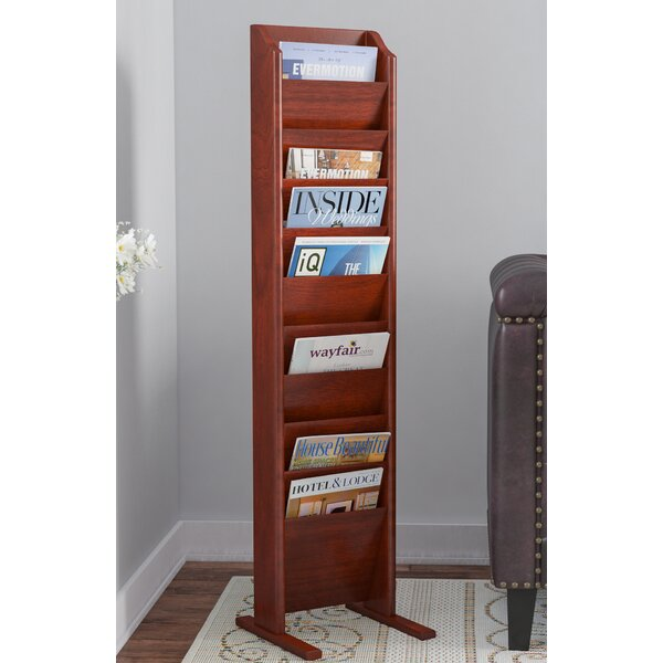 Delia 10 Pocket Free Standing Magazine Rack by Darby Home Co