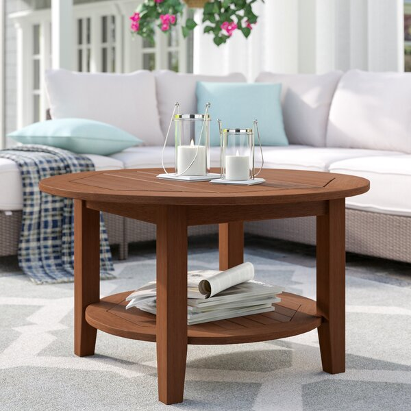 Dowling Solid Wood Coffee Table by Three Posts Three Posts