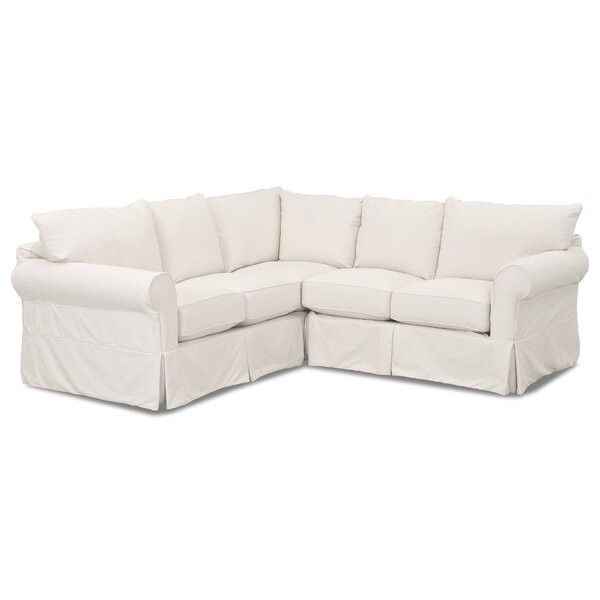 Felicity Reversible Sectional by Wayfair Custom Upholstery™