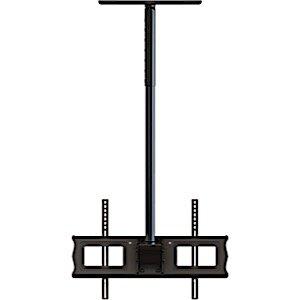 Single Ceiling Mount Universal Wall for 37-63 LCD and Plasma TV's by Crimson AV