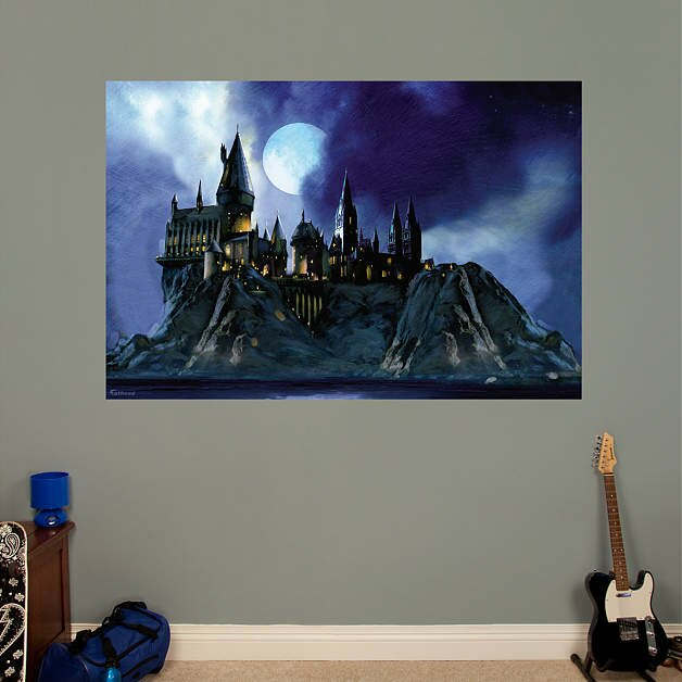 Fathead Harry Potter Hogwarts Castle