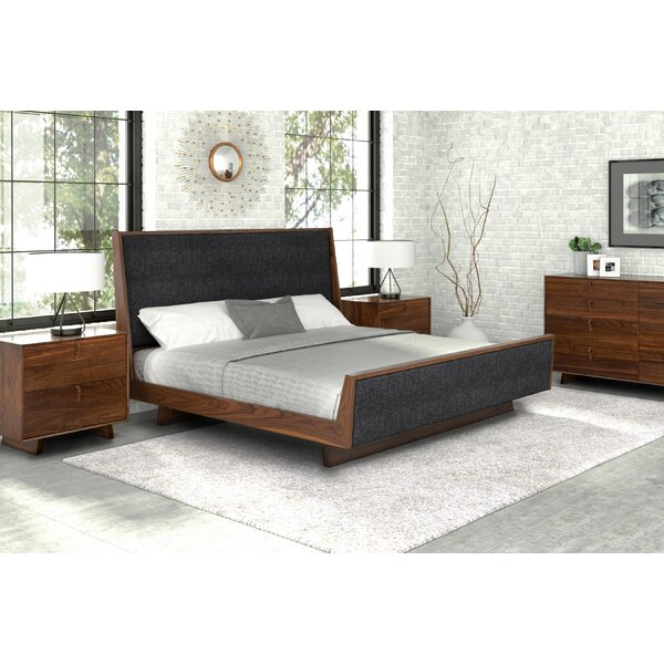 Keaton Upholstered Sleigh Bed by Copeland Furniture