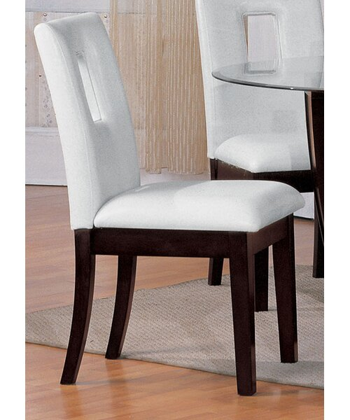 Breland Upholstered Dining Chair (Set of 2) by World Menagerie World Menagerie