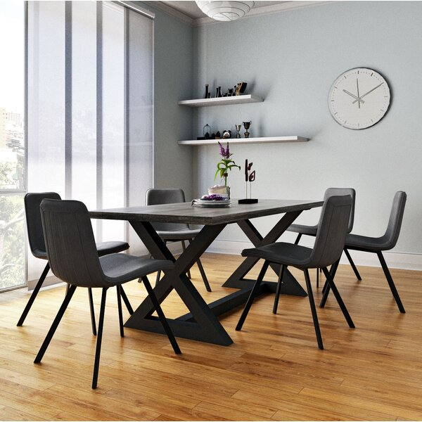 Ridge 7 Piece Dining Set by 17 Stories