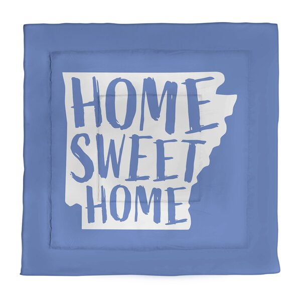 Arkansas Home Sweet Single Reversible Comforter