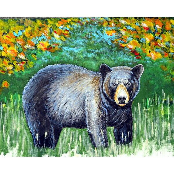 Iker Bear Placemat (Set of 4) by Millwood Pines