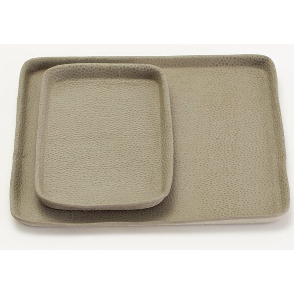 Soft Press Rectangle Accent Tray by Langley Street