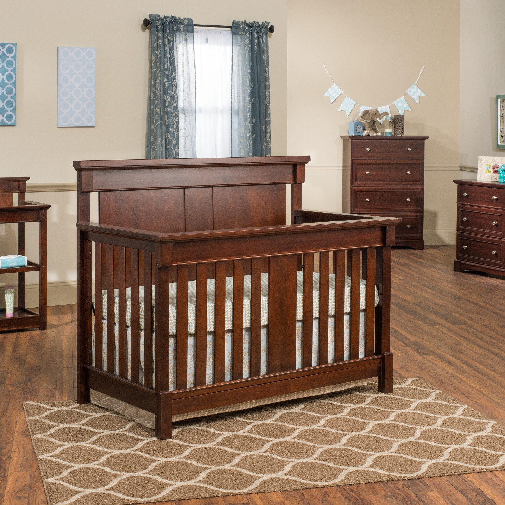 bed baby turns bassett addison into pdx convertible in kids wayfair crib
