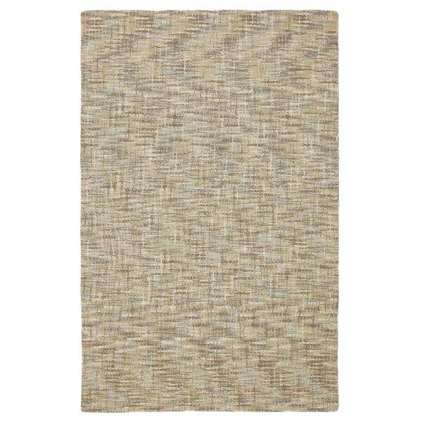 Tweedy Driftwood Wool Brown/CreamArea Rug by CompanyC