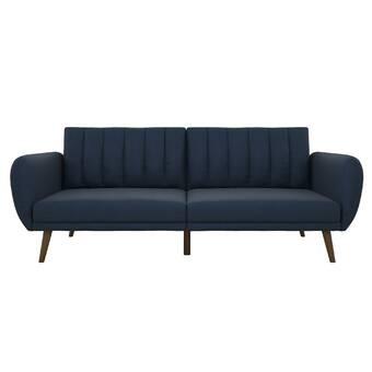 new styles 48413 6ca2b Novogratz Brittany Convertible Sofa & Reviews   Wayfair