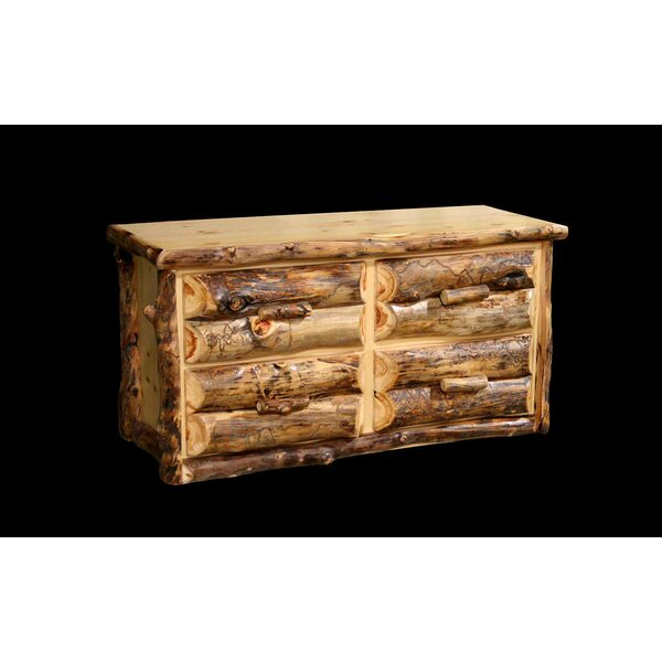 Amias 4 Drawer Double Dresser by Millwood Pines