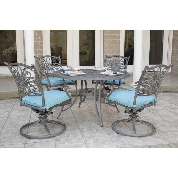 Woolsey 5 Piece Dining Set by Charlton Home