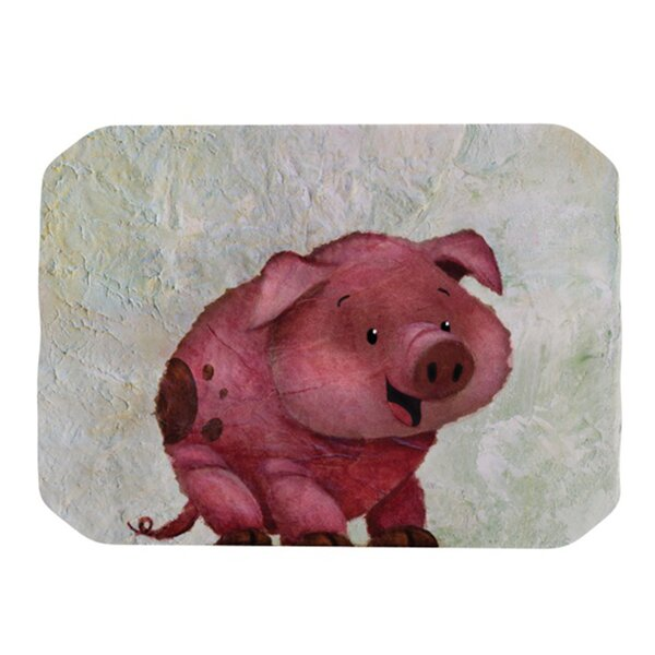 This Little Piggy Placemat by KESS InHouse