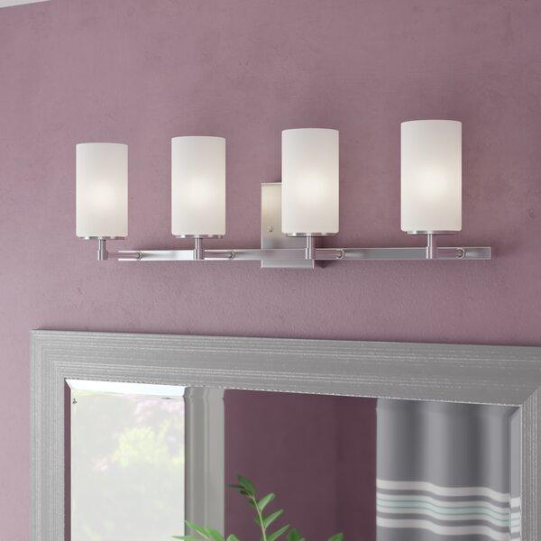 Haworth 4-Light Glass Shade Vanity Light by Wade Logan
