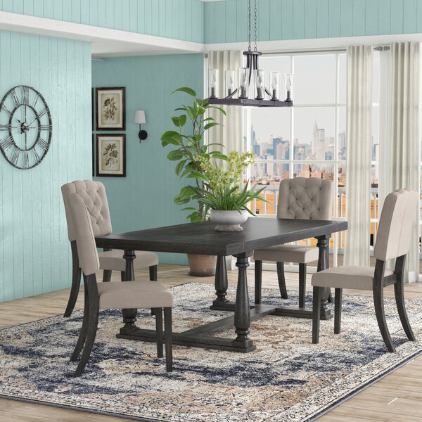 Gertrudes 5 Piece Dining Set by One Allium Way