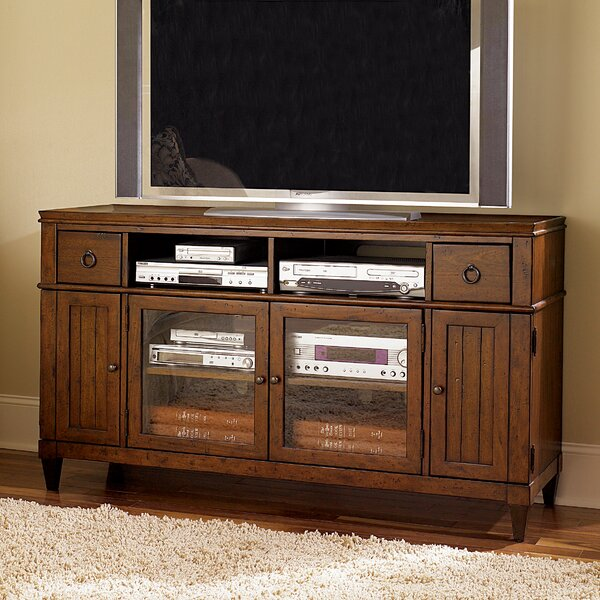 Langer Solid Wood TV Stand for TVs up to 65