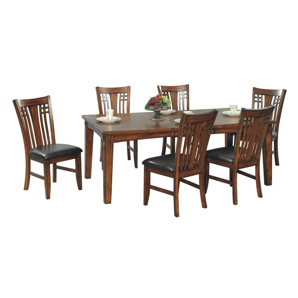 Schueller 5 Piece Extendable Solid Wood Dining Set by Darby Home Co