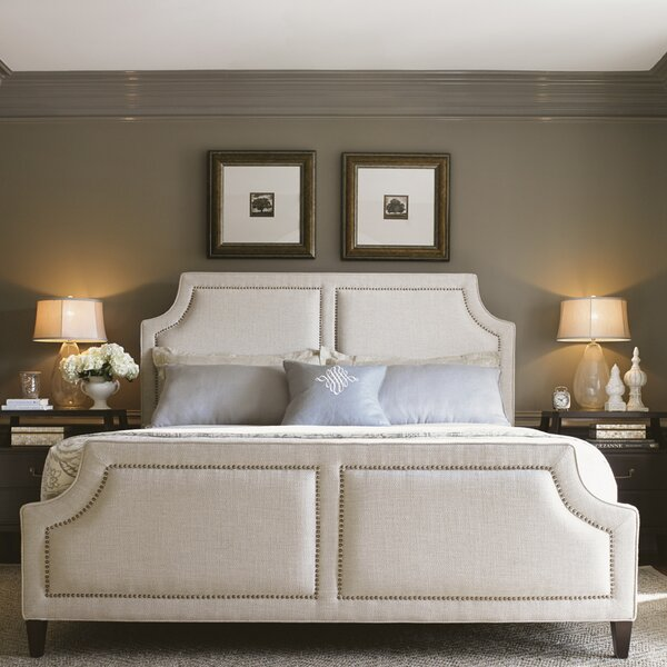 Kensington Place Upholstered Panel Bed by Lexington