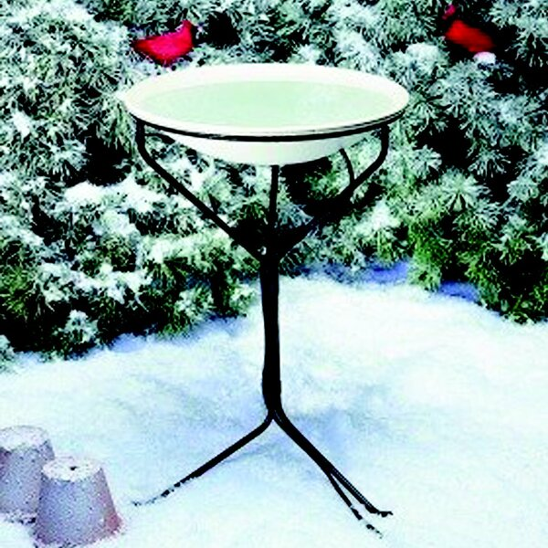 Stand Heated Birdbath by Allied Precision Industries