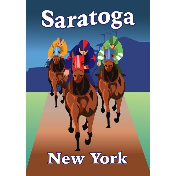Saratoga NY Garden flag by Toland Home Garden