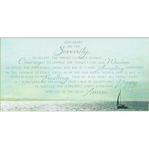 Wall Plaque Textual Art on Wood by Highland Dunes
