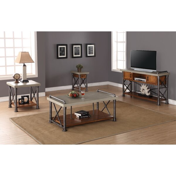 Perei 4 Piece Coffee Table Set by 17 Stories
