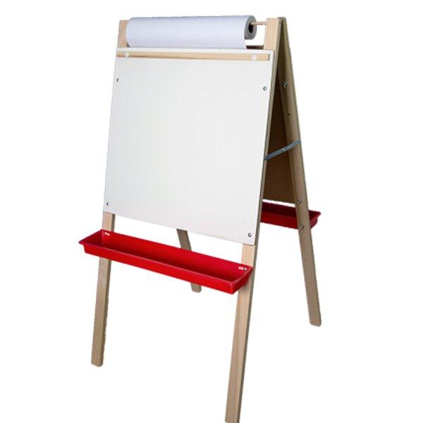 Flipside Paper Roll Adjustable Board Easel by Elenco Electronics