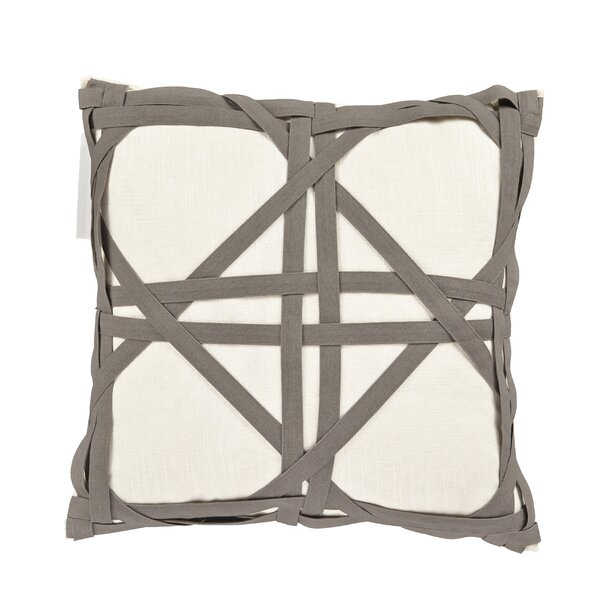 Kimawati Weave Throw Pillow by Gracie Oaks