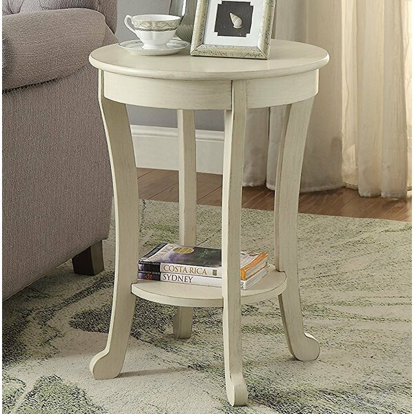 Brigette Transitional End Table by Ophelia & Co.