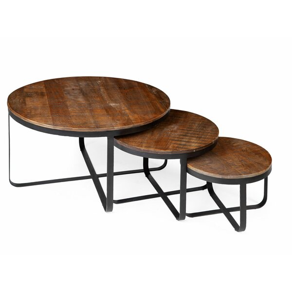 Sienna 3 Piece Cross Legs End Table Set By 17 Stories