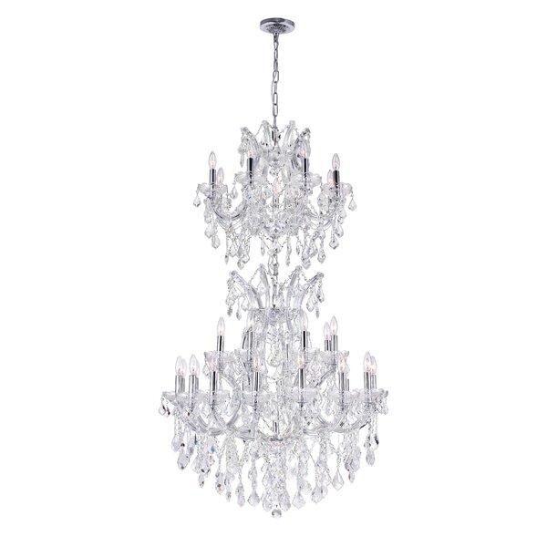 Orr Crystal 34-Light Chandelier by Astoria Grand