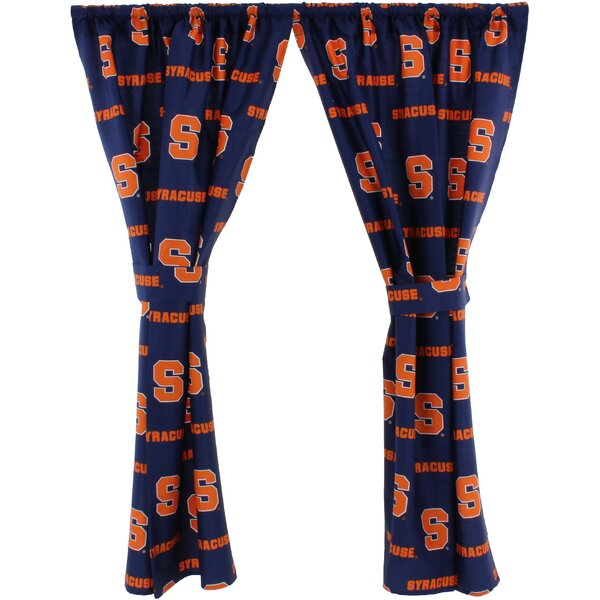 NCAA Syracuse Curtain Panels (Set of 2) by College Covers