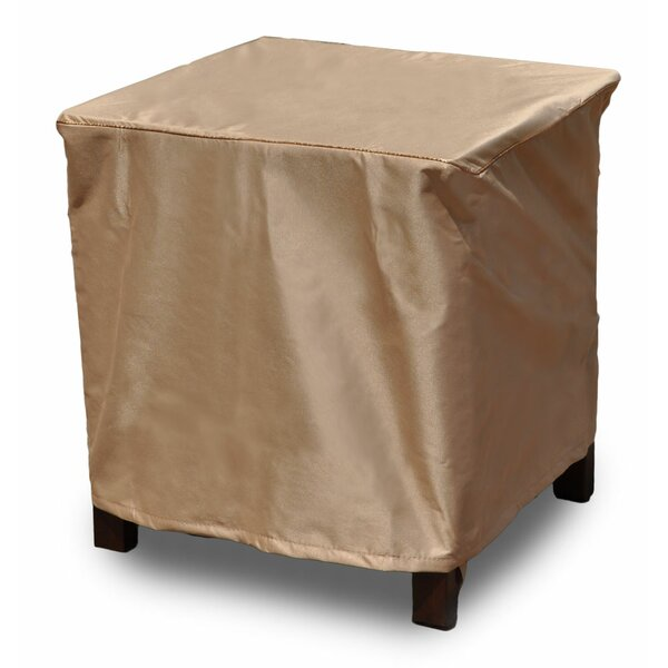 Chelsea Square Outdoor Side Table/Ottoman Cover by Budge Industries