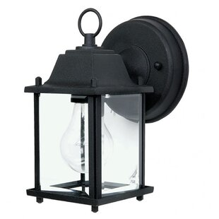 Online Reviews Weishaar LED Outdoor Wall Lantern By Winston Porter