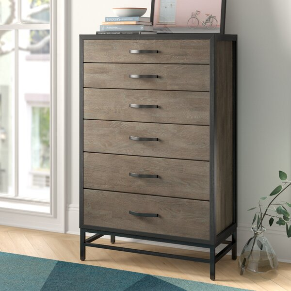 Forrest 5 Drawer Chest By Foundstone