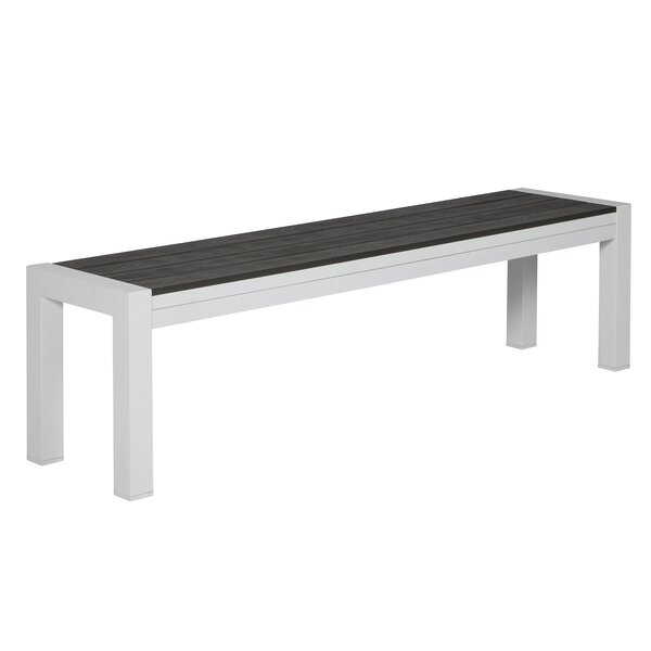 Crespin Aluminum Garden Bench by Charlton Home