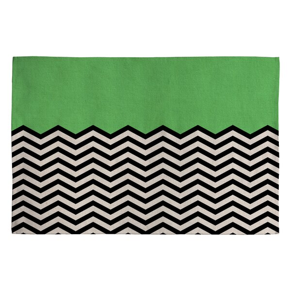 Bianca Green This Way Area Rug by Deny Designs