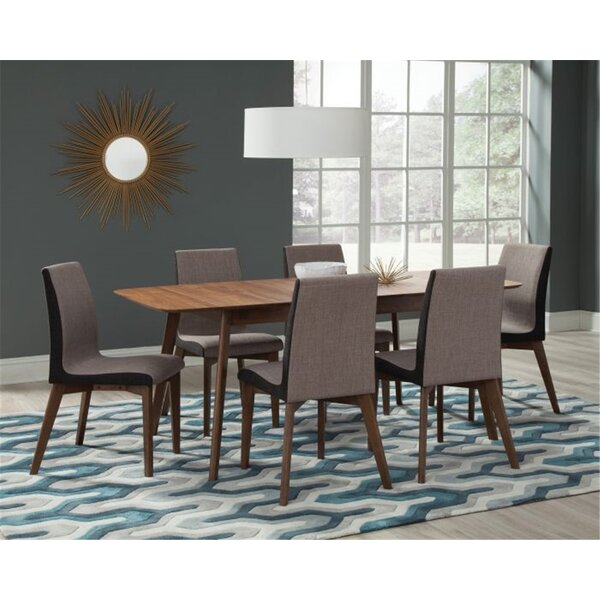 Earls 7 Piece Extendable Solid Wood Dining Set by Corrigan Studio