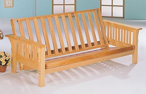 futon wood or bed natural d mattressesfuton beds seoul base product lit brun frames mattresses and bois frame