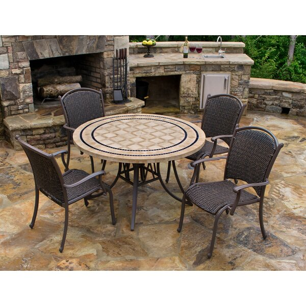 Christmas 5 Piece Dining Set by Darby Home Co