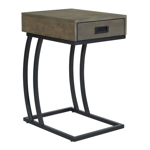 Tristin End Table With Storage By Wrought Studio