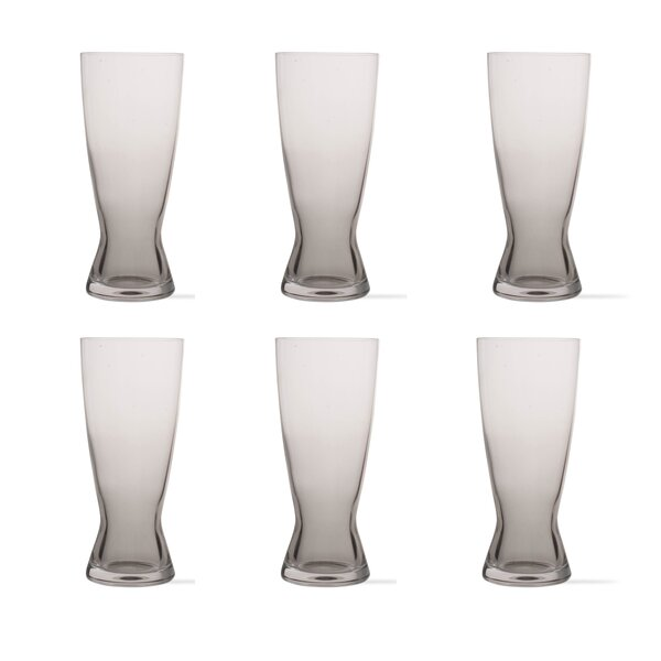 Tag Craft 13 oz. Crystal Pint Glass (Set of 6) by TAG