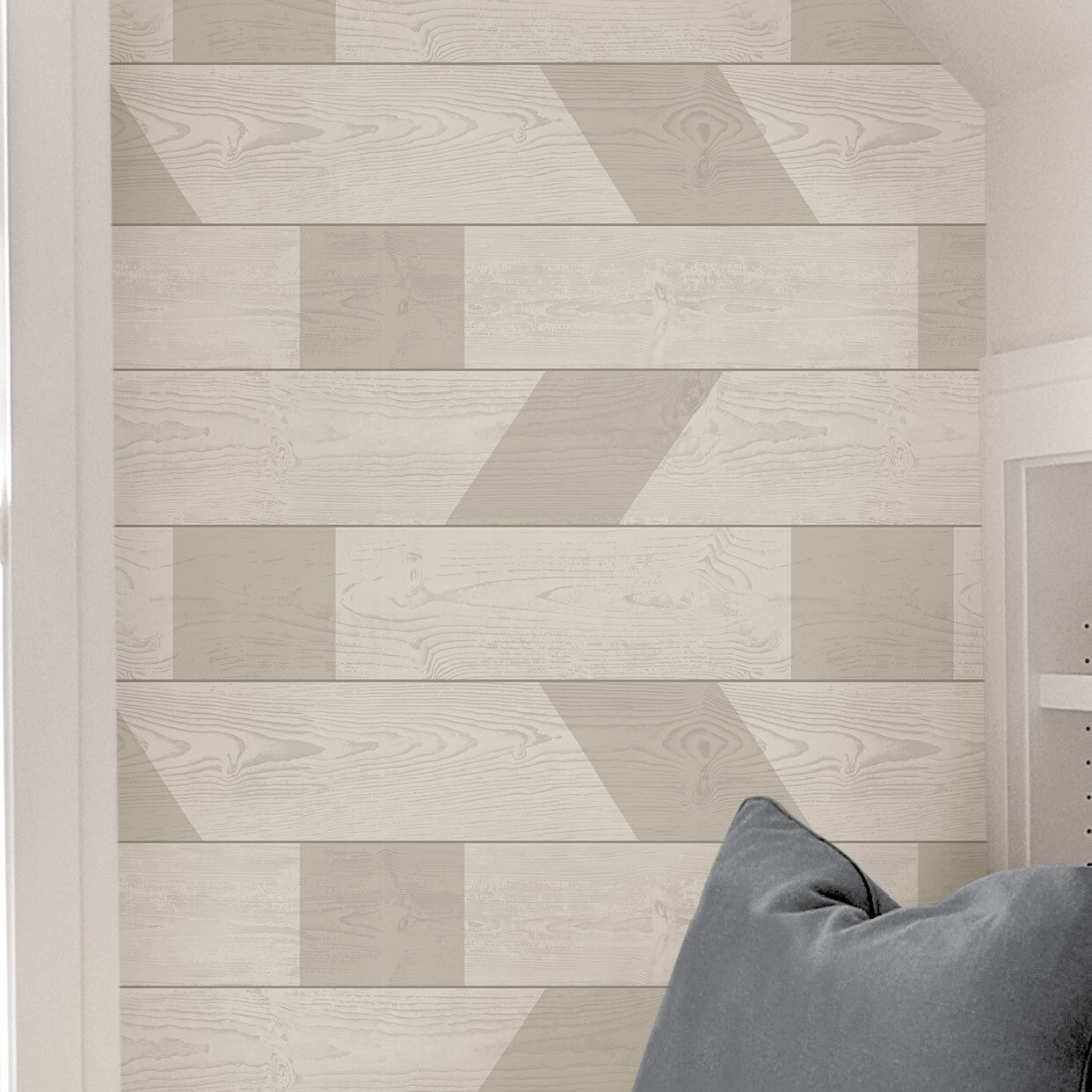 Scott Living Natural Graphic Shiplap 18