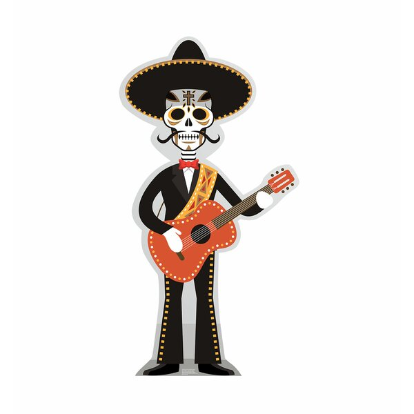 Day of the Dead Guitar Player Standup by Advanced Graphics