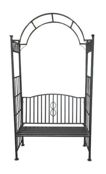 Toscana Bench Steel Arbor by DC America