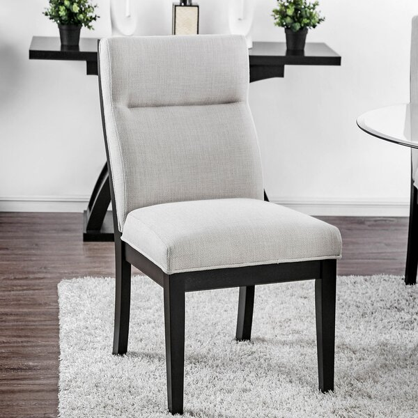 Lera Upholstered Dining Chair (Set of 2) by Brayden Studio