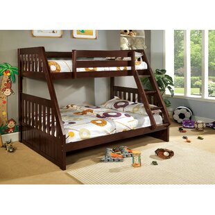 Best Logan Twin over Full Bunk Bed By Hokku Designs