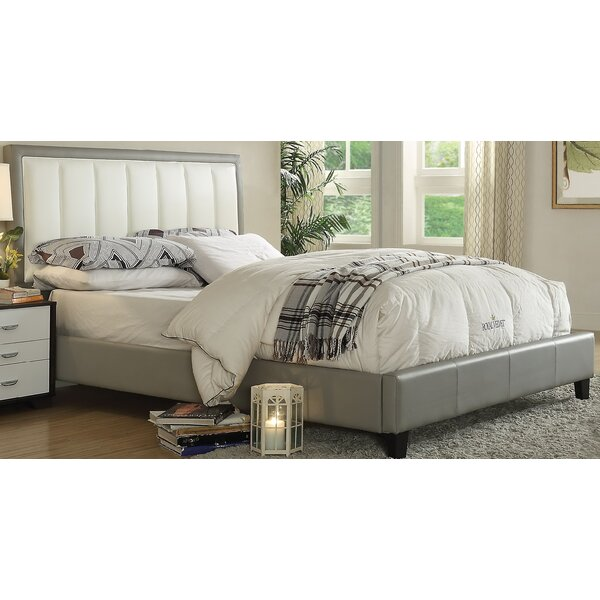 Clevenger Queen Upholstered Platform Bed by House of Hampton