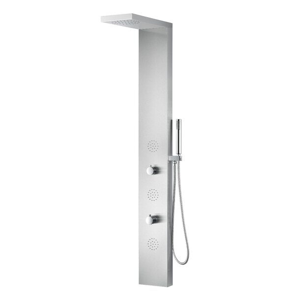 Tundra Series Fixed Shower Head Shower Panel System by ANZZI