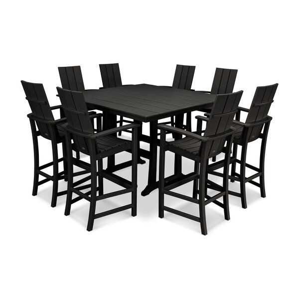 9 Piece Bar Height Dining Set